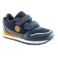 Ортопедическая кроссовки для детей - Ортобум 33057-02 (черно-серый с оранжевым)